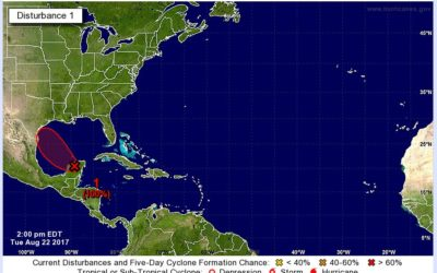 Tropical Storm in the Gulf Get Ready?